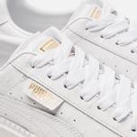 Женские кроссовки Puma Basket Platform Trace Ostrich White/White фото- 6
