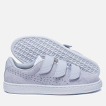 Женские кроссовки Puma Basket Strap Exotic Skin Halogen Blue фото- 1