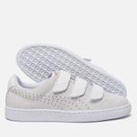 Женские кроссовки Puma Basket Strap Exotic Skin White/White фото- 1