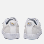 Женские кроссовки Puma Basket Strap Exotic Skin White/White фото- 3