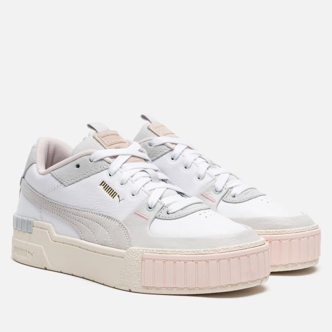 Женские кроссовки Puma Cali Sport Mix White/Marshmall