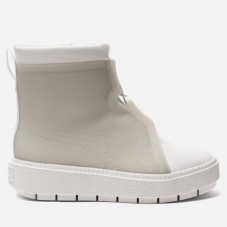 Женские кроссовки Puma Platform Trace Rain Boot White/Gray Violet
