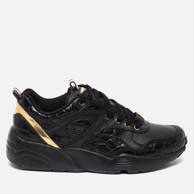 Puma R698 Exotic Pack Women's Sneakers Black/Gold