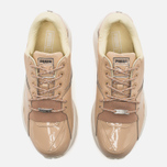 Puma R698 Women's Sneakers Patent Nude Natural Vachetta photo- 4