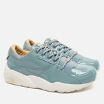 Puma R698 Women's Sneakers Patent Nude Slate photo- 2