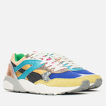Женские кроссовки Puma R698 Polly Pack Blue/Green Sheen/Whisper White фото- 1