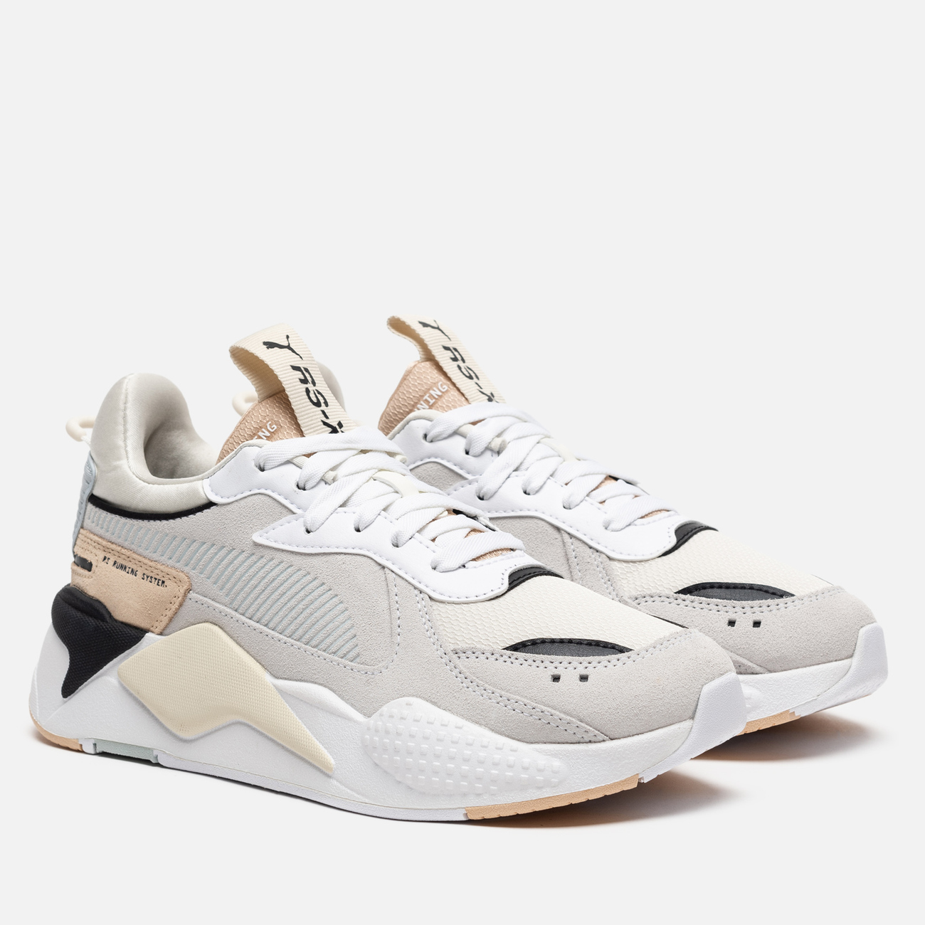 Женские кроссовки Puma RS-X Reinvent White/Natural Vachetta