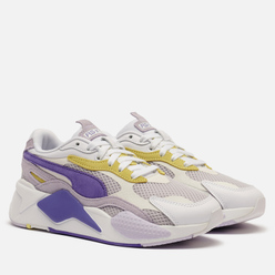 Женские кроссовки Puma RS-X3 Mesh Pop White/Purple Corallites