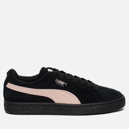 Женские кроссовки Puma Suede Classic Black/Pearl Pink
