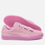 Женские кроссовки Puma Suede Heart Reset Prism Pink/Prism Pink фото- 2