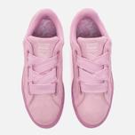 Женские кроссовки Puma Suede Heart Reset Prism Pink/Prism Pink фото- 4