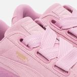 Женские кроссовки Puma Suede Heart Reset Prism Pink/Prism Pink фото- 5