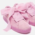 Женские кроссовки Puma Suede Heart Reset Prism Pink/Prism Pink фото- 6