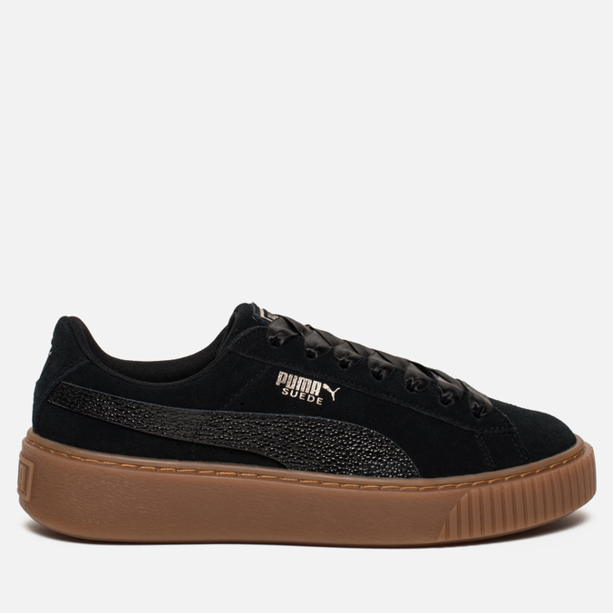... buy e8de3 98c5b  Женские кроссовки Puma Suede Platform Bubble Black  fashion 5c9a9 8d3ea ... 8caab878139