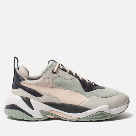 Женские кроссовки Puma Thunder Colour Block Gray Mist/Silver Peony