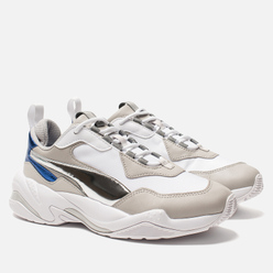 Женские кроссовки Puma Thunder Electric White/Grey/Metallic Silver/Blue