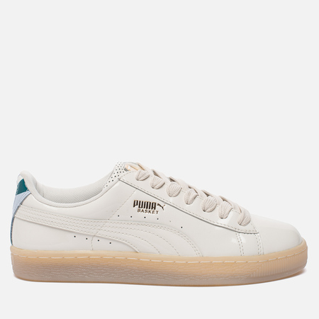 Женские кроссовки Puma x Careaux Basket Whisper White