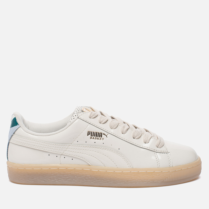 Женские кроссовки Puma x Careaux Basket Whisper White