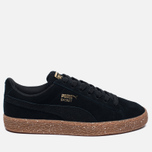 Женские кроссовки Puma x Careaux Suede Basket Black/Brown фото- 0