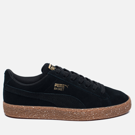 Женские кроссовки Puma x Careaux Suede Basket Black/Brown