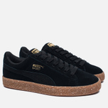 Женские кроссовки Puma x Careaux Suede Basket Black/Brown фото- 1