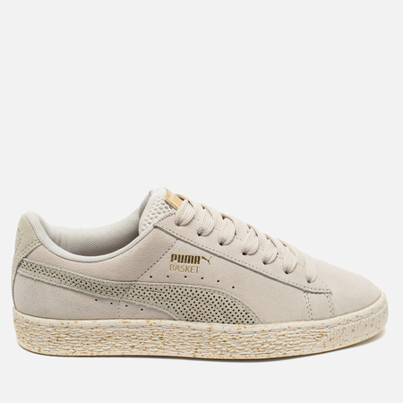 Puma x Careaux Suede Basket Women's Sneakers Whisper White