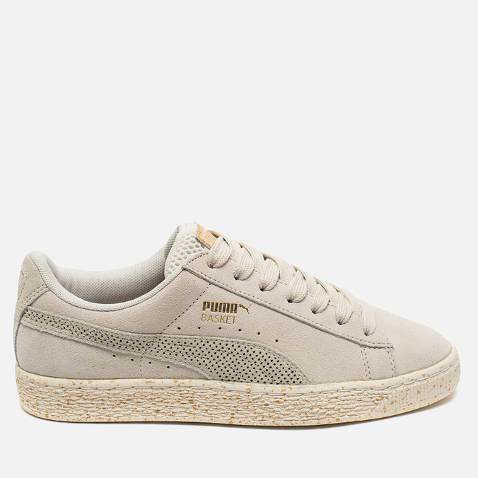 Женские кроссовки Puma x Careaux Suede Basket Whisper White