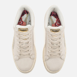 Женские кроссовки Puma x Careaux Suede Basket Whisper White фото- 3