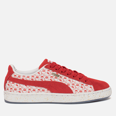 Женские кроссовки Puma x Hello Kitty Suede Bright Red