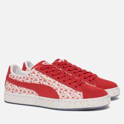 Женские кроссовки Puma x Hello Kitty Suede Bright Red