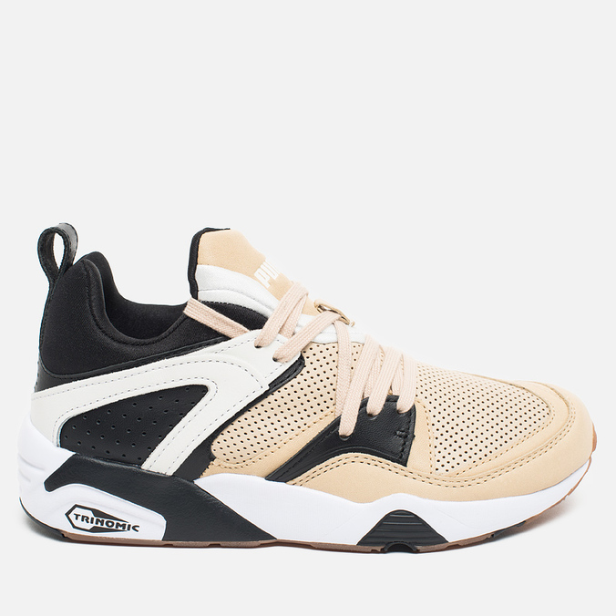 Женские кроссовки Puma x Monkey Time Blaze Of Glory Secular Change Cream/Black/White