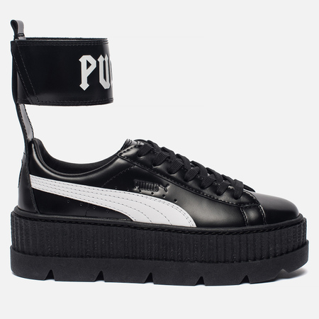 Женские кроссовки Puma x Rihanna Fenty Ankle Strap Sneaker Black