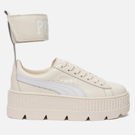 Женские кроссовки Puma x Rihanna Fenty Ankle Strap Sneaker Vanilla Ice