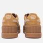 Женские кроссовки Puma x Rihanna Fenty Cleated Creeper Suede Golden Brown/Lark фото - 2