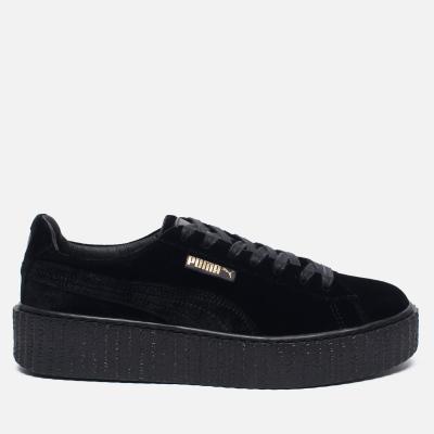 Puma x Rihanna Fenty Creeper Velvet Black/Black