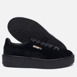 Женские кроссовки Puma x Rihanna Fenty Creeper Velvet Black/Black фото- 1