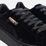 Женские кроссовки Puma x Rihanna Fenty Creeper Velvet Black/Black фото- 3