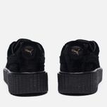 Женские кроссовки Puma x Rihanna Fenty Creeper Velvet Black/Black фото- 5