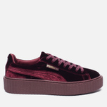 Женские кроссовки Puma x Rihanna Fenty Creeper Velvet Royal/Purple фото- 0
