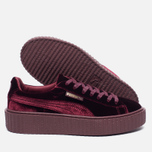 Женские кроссовки Puma x Rihanna Fenty Creeper Velvet Royal/Purple фото- 1
