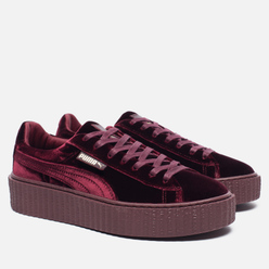 Женские кроссовки Puma x Rihanna Fenty Creeper Velvet Royal/Purple