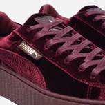 Женские кроссовки Puma x Rihanna Fenty Creeper Velvet Royal/Purple фото- 3