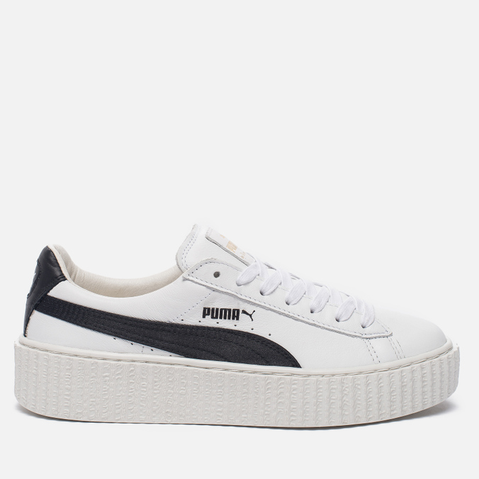 Женские кроссовки Puma x Rihanna Fenty Creeper White/Black