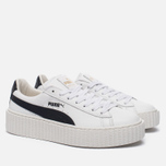 Женские кроссовки Puma x Rihanna Fenty Creeper White/Black фото- 2