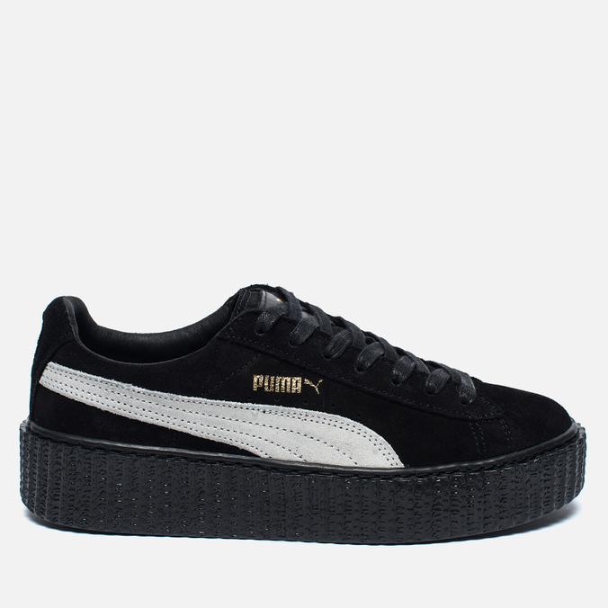 Женские кроссовки Puma x Rihanna Fenty Suede Creepers Black