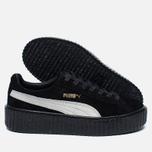 Женские кроссовки Puma x Rihanna Fenty Suede Creepers Black фото- 2