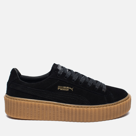 Puma x Rihanna Fenty Suede Creepers Women's Sneakers Black/Gum