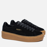 Puma x Rihanna Fenty Suede Creepers Women's Sneakers Black/Gum photo- 1