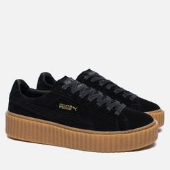 Женские кроссовки Puma x Rihanna Fenty Suede Creepers Black/Gum
