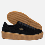 Puma x Rihanna Fenty Suede Creepers Women's Sneakers Black/Gum photo- 2